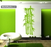 Wall Stickers: Floral Olyreae 2