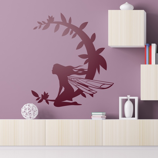 Wall Stickers: Moon Fairy
