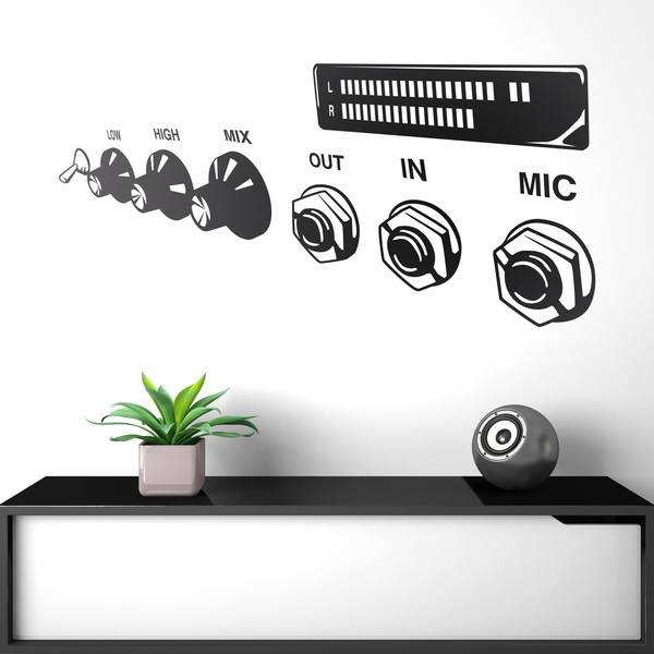 Wall Stickers: Amplifier head
