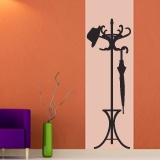 Wall Stickers: classic Coat 4