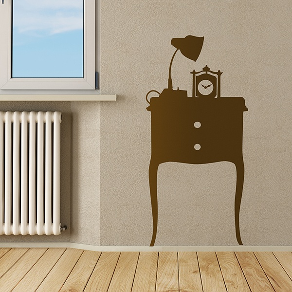 Wall Stickers: side table