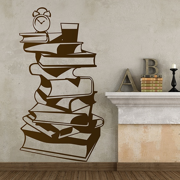 Wall Stickers: Coffee table books