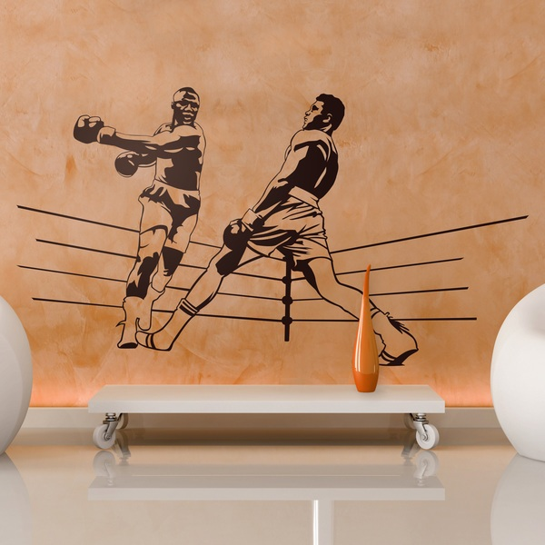Wall Stickers: Boxing Ali