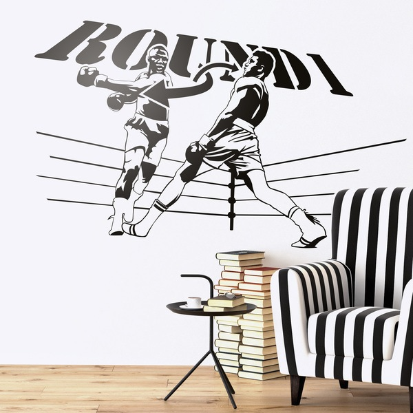 Wall Stickers: Ali Round