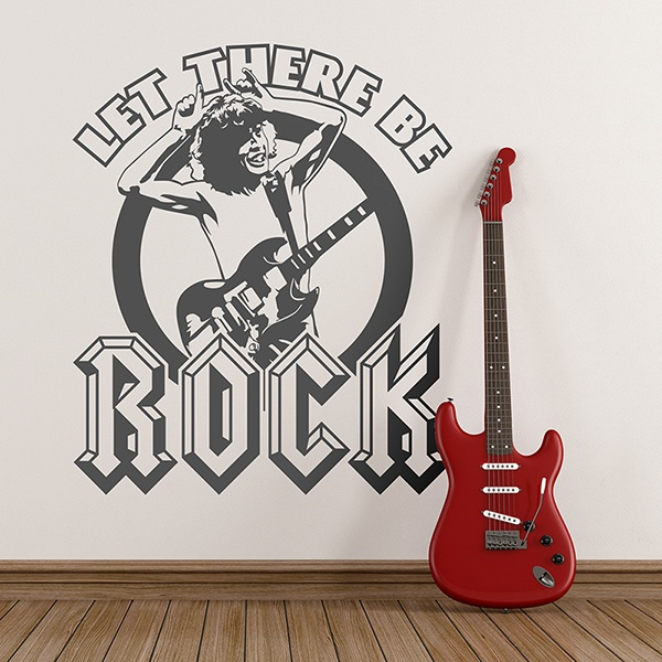 Wall Stickers: Evil rock