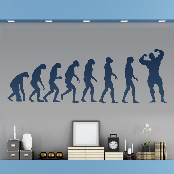 Wall Stickers: Evolution Muscle