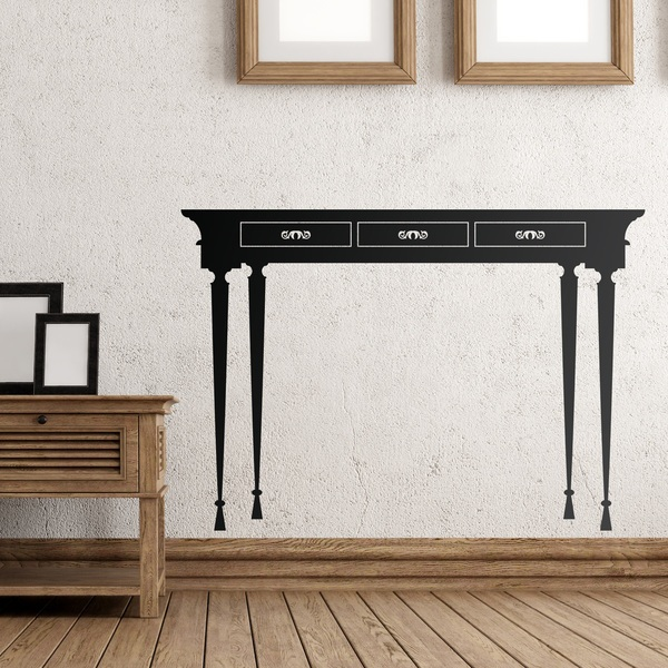 Wall Stickers: vintage table