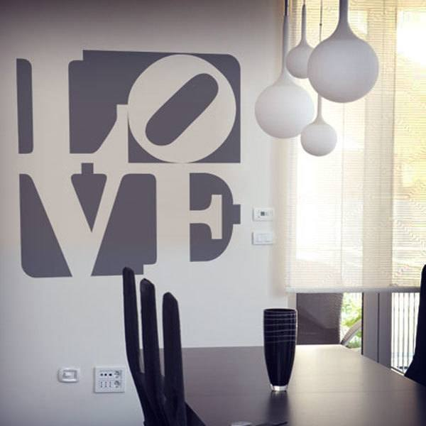 Wall Stickers: Love Design