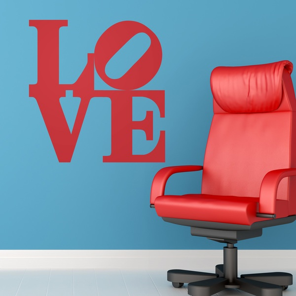 Wall Stickers: love design 2