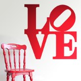 Wall Stickers: love design 2 3