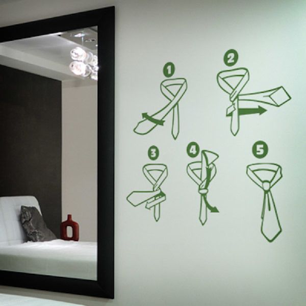 Wall Stickers: tie