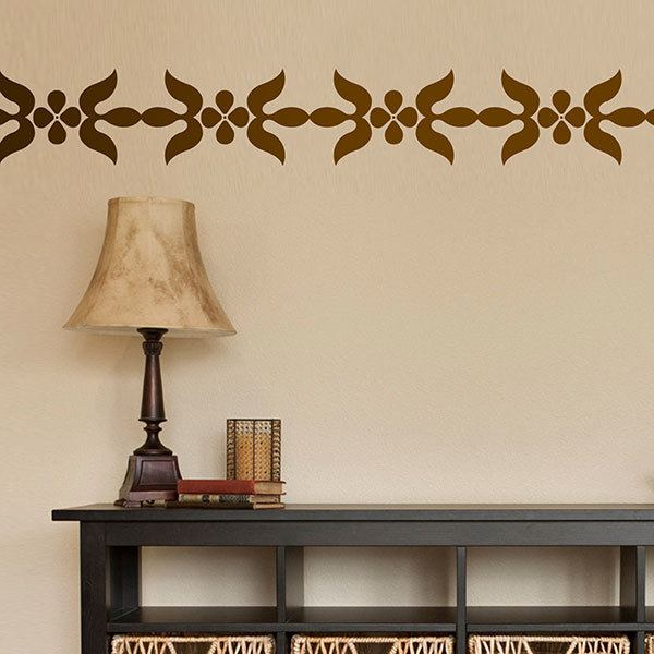 Wall Stickers: Wall Border Tiny