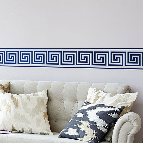 Wall Stickers: Wall border Stickers Greek
