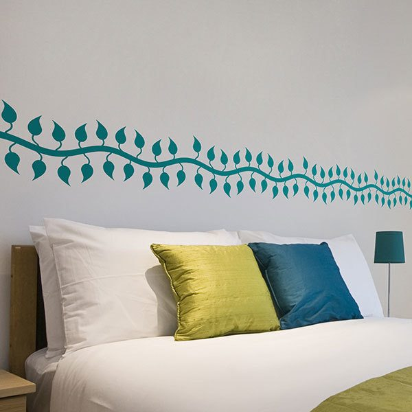 Wall Stickers: Wall Border Climbing plant