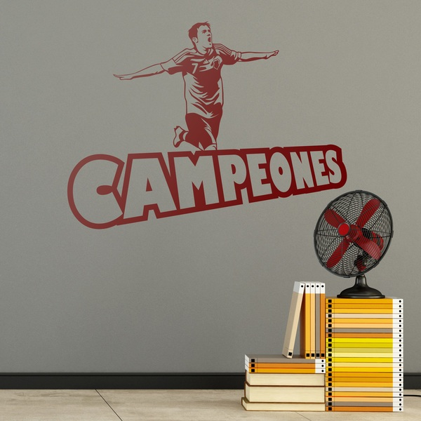 Wall Stickers: Campeones