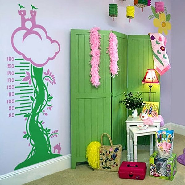 Wall Stickers: Medidor multicolor