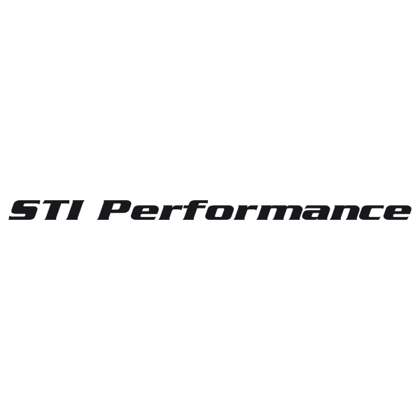 Car and Motorbike Stickers: STI Performance