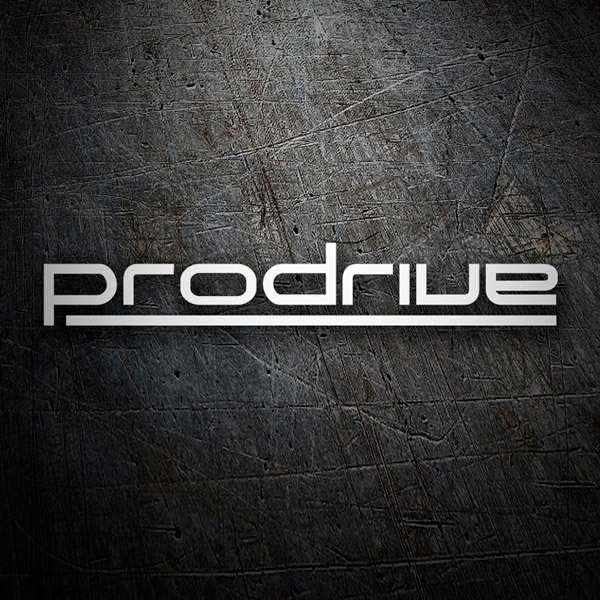 Car & Motorbike Stickers: Prodrive