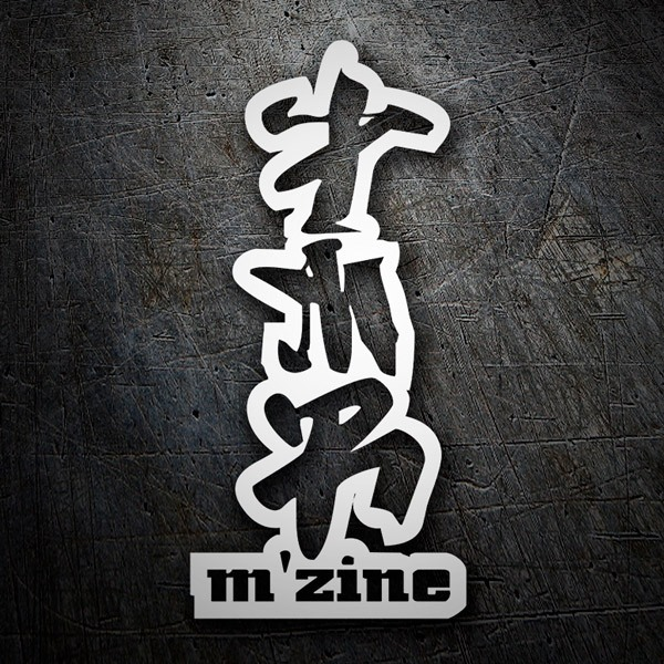 Car & Motorbike Stickers: M´zine
