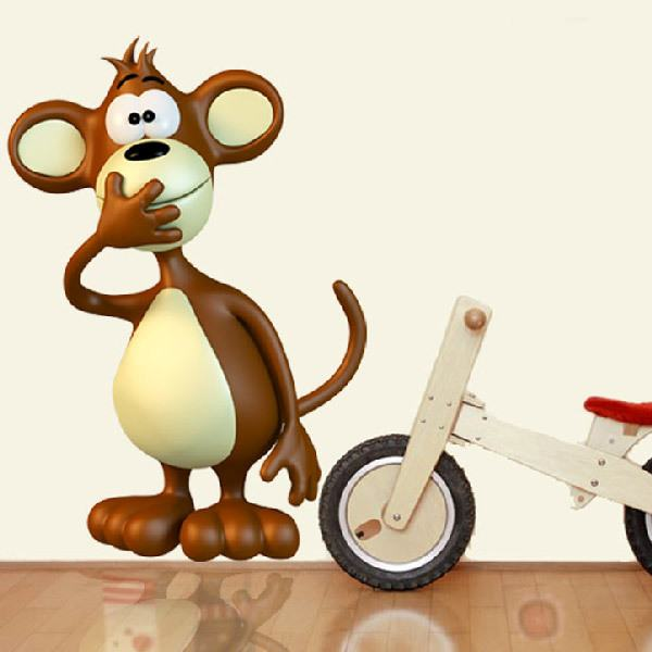 Stickers for Kids: monkey 2
