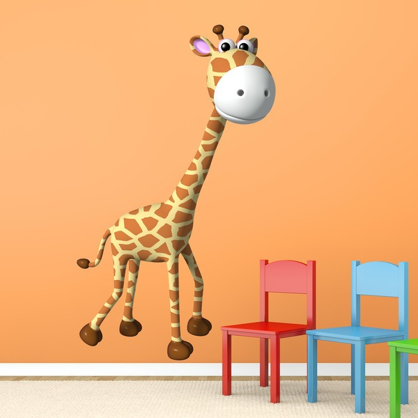 Stickers for Kids: giraffe 2