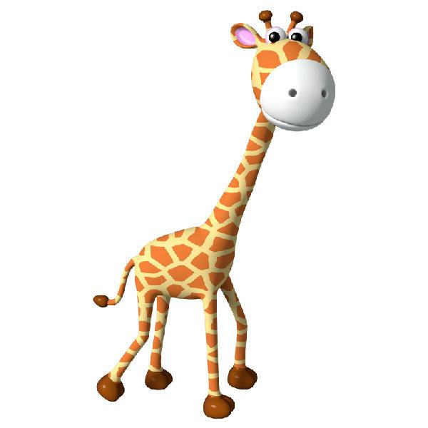 Stickers for Kids: Giraffe child