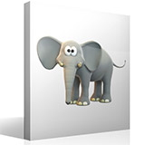 Stickers for Kids: Happy elephant 3