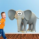 Stickers for Kids: Happy elephant 4