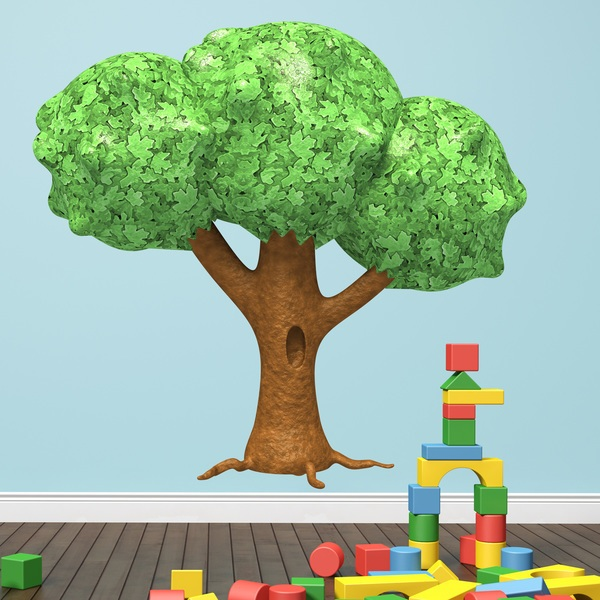 Stickers for Kids:  Tree fantasia