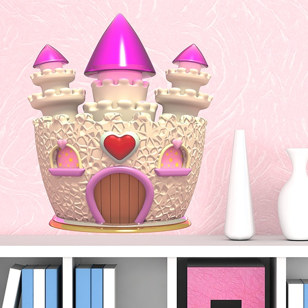 Stickers for Kids: The Enchanted Castle
