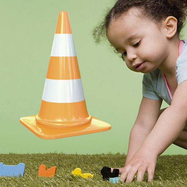 Stickers for Kids: Signaling cone