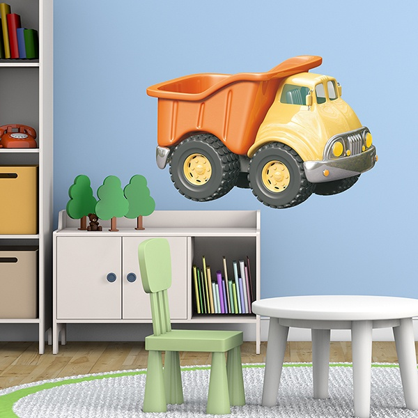 Stickers for Kids: Truck