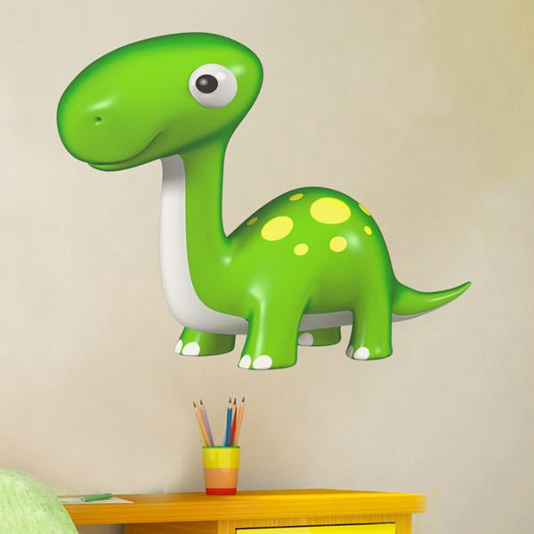 Stickers for Kids: Baby diplodocus