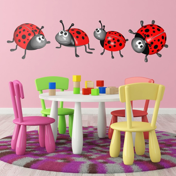 Stickers for Kids: Ladybugs Kit