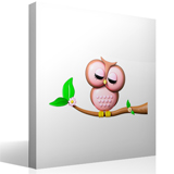 Stickers for Kids: Owl on a Branch 3