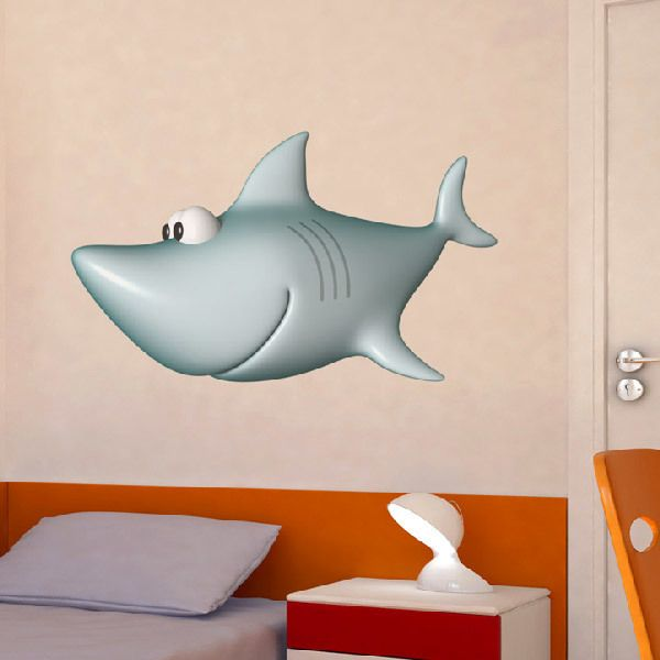 Stickers for Kids: White shark