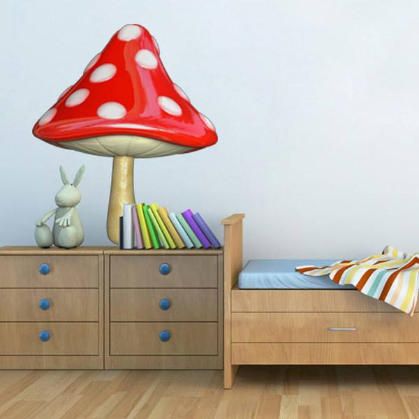 Stickers for Kids: magic mushroom