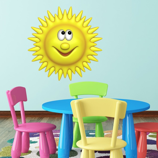 Stickers for Kids: sunshine