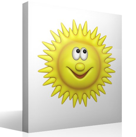 Stickers for Kids: Bright sun 3