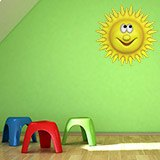 Stickers for Kids: Bright sun 4