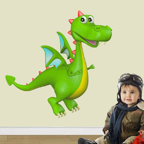 Stickers for Kids: Children Dragon