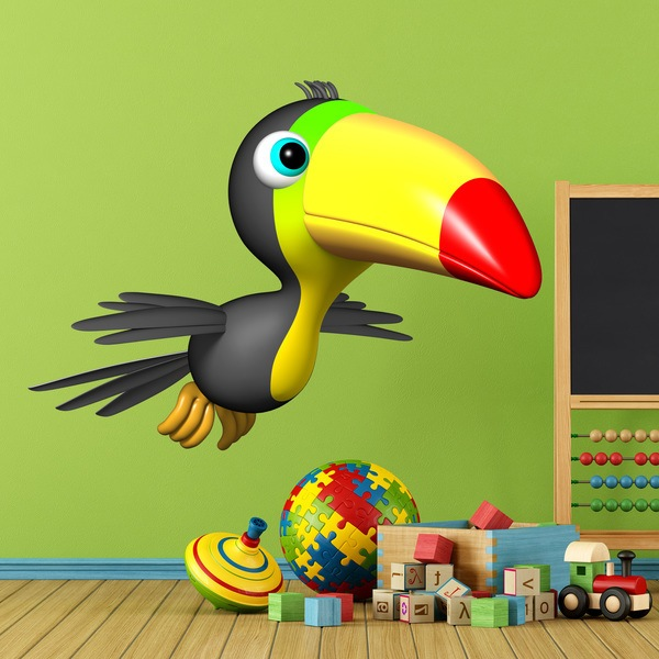 Stickers for Kids: toucan