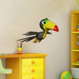 Stickers for Kids: Toucan flying 4
