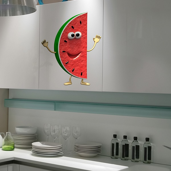 Stickers for Kids: watermelon