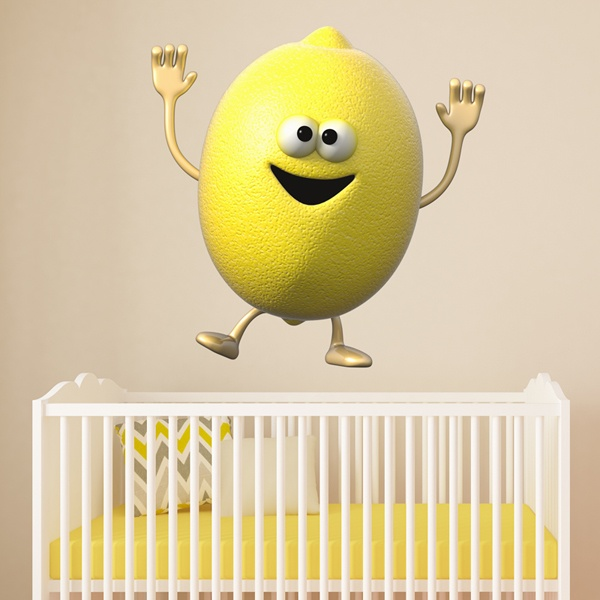 Stickers for Kids: Lemon