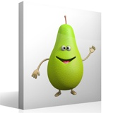 Stickers for Kids: Pear 4