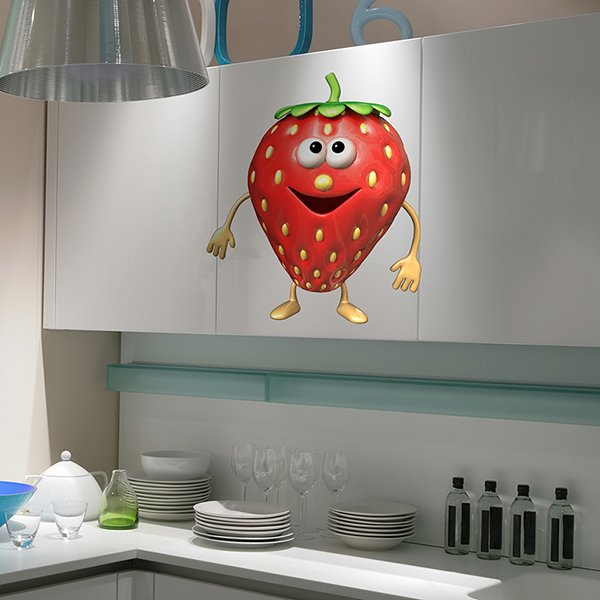 Stickers for Kids: Strawberry