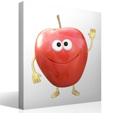 Stickers for Kids: Red apple 4