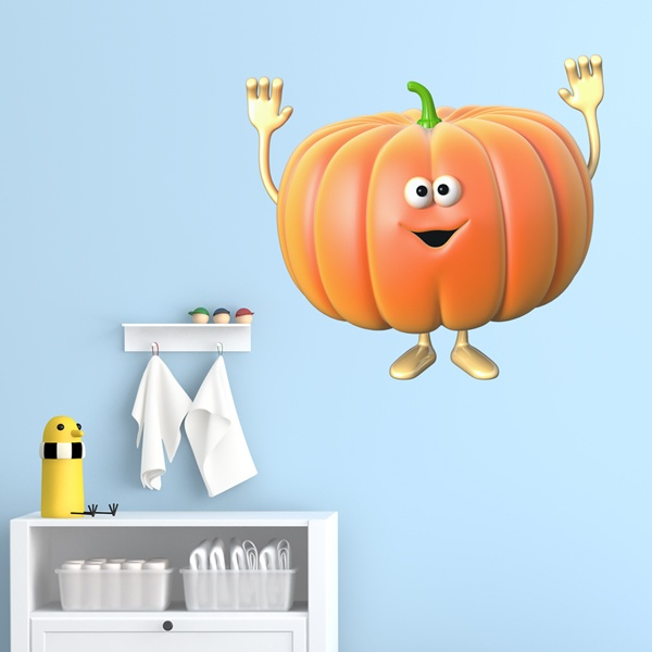 Stickers for Kids: Pumpkin