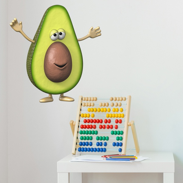 Stickers for Kids: Avocado